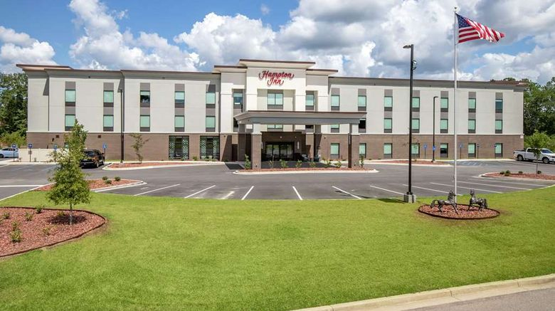 """Hampton Inn Camden Exterior. Images powered by <a href=""""http://web.iceportal.com"""" target=""""_blank"""" rel=""""noopener"""">Ice Portal</a>."""