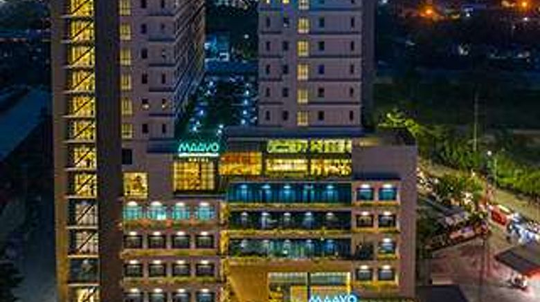 """Maayo Hotel Exterior. Images powered by <a href=""""http://web.iceportal.com"""" target=""""_blank"""" rel=""""noopener"""">Ice Portal</a>."""