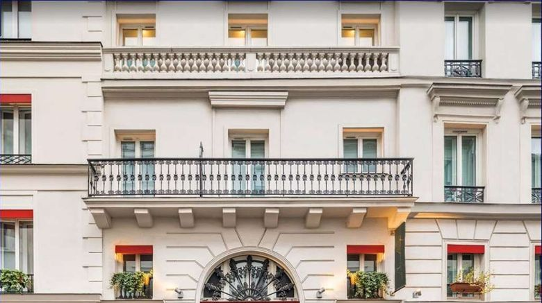 """Hotel Beauchamps Exterior. Images powered by <a href=""""http://web.iceportal.com"""" target=""""_blank"""" rel=""""noopener"""">Ice Portal</a>."""