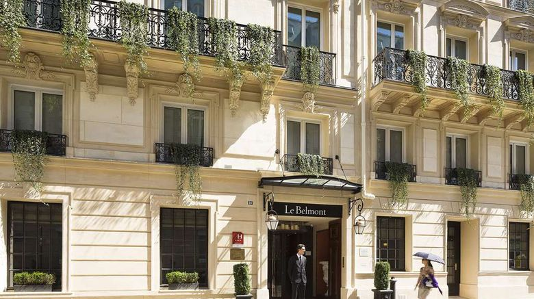 """Hotel Le Belmont Exterior. Images powered by <a href=""""http://web.iceportal.com"""" target=""""_blank"""" rel=""""noopener"""">Ice Portal</a>."""