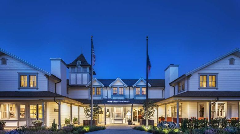 """Fess Parkers Wine Country Inn Exterior. Images powered by <a href=""""http://web.iceportal.com"""" target=""""_blank"""" rel=""""noopener"""">Ice Portal</a>."""