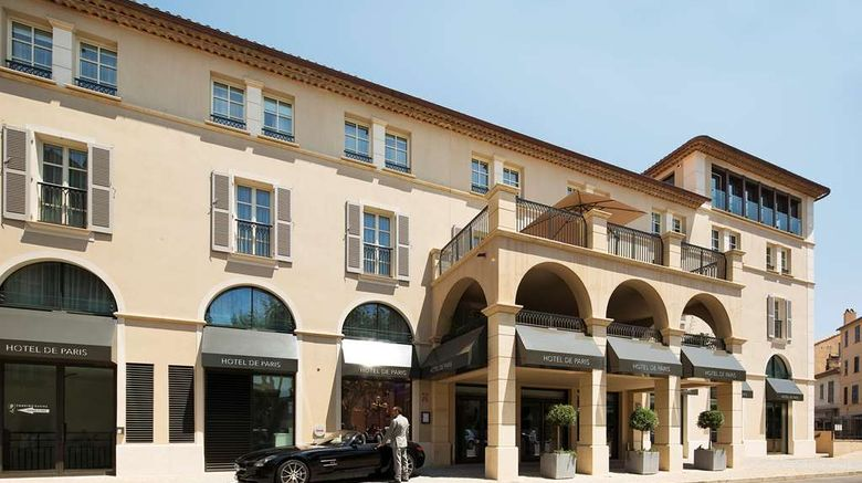 """Hotel de Paris St Tropez Exterior. Images powered by <a href=""""http://web.iceportal.com"""" target=""""_blank"""" rel=""""noopener"""">Ice Portal</a>."""