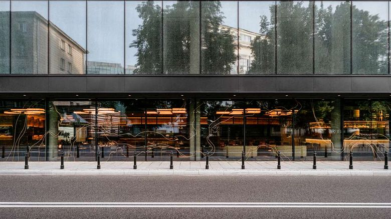 """Nobu Hotel Warsaw Exterior. Images powered by <a href=""""http://web.iceportal.com"""" target=""""_blank"""" rel=""""noopener"""">Ice Portal</a>."""