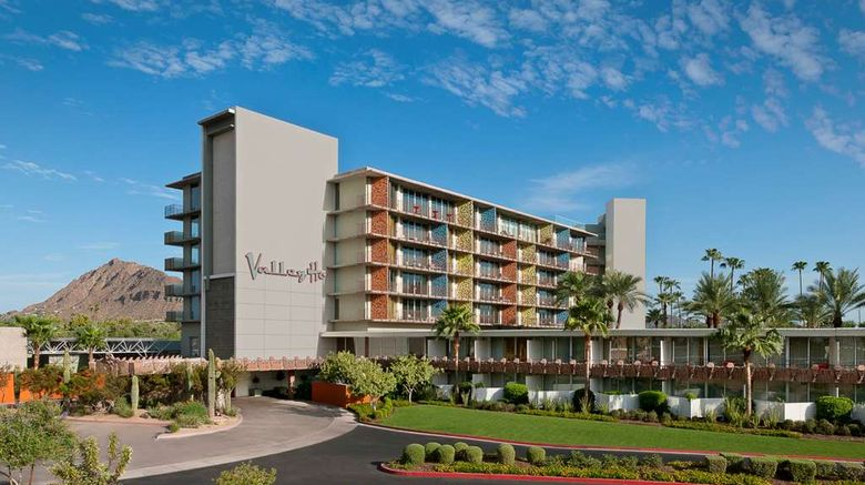 """Hotel Valley Ho Exterior. Images powered by <a href=""""http://web.iceportal.com"""" target=""""_blank"""" rel=""""noopener"""">Ice Portal</a>."""