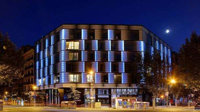 """Olivia Balmes Hotel Exterior. Images powered by <a href=""""http://web.iceportal.com"""" target=""""_blank"""" rel=""""noopener"""">Ice Portal</a>."""