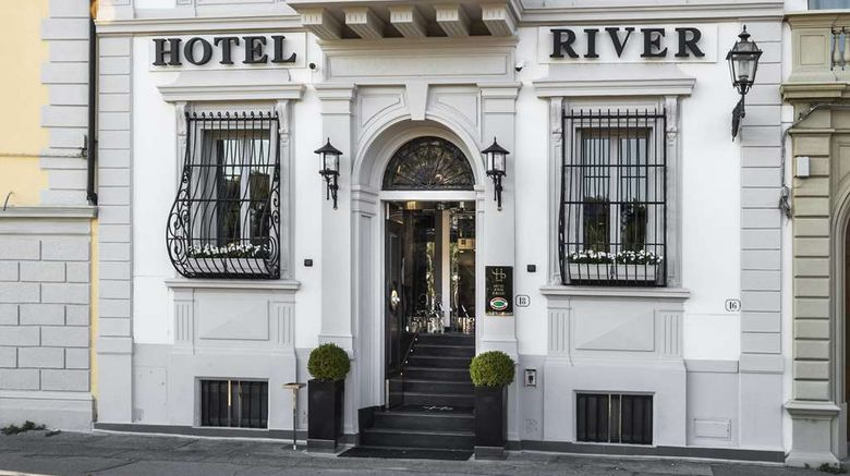 """River Hotel  and  SPA Exterior. Images powered by <a href=""""http://web.iceportal.com"""" target=""""_blank"""" rel=""""noopener"""">Ice Portal</a>."""