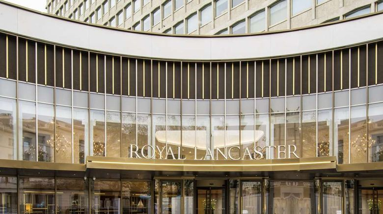 """Royal Lancaster London Exterior. Images powered by <a href=""""http://web.iceportal.com"""" target=""""_blank"""" rel=""""noopener"""">Ice Portal</a>."""