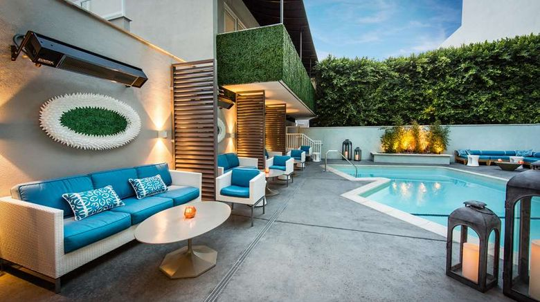 """The Mosaic Hotel Beverly Hills Exterior. Images powered by <a href=""""http://web.iceportal.com"""" target=""""_blank"""" rel=""""noopener"""">Ice Portal</a>."""