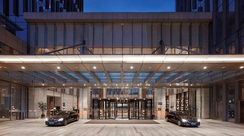 """Hilton Guiyang Exterior. Images powered by <a href=""""http://web.iceportal.com"""" target=""""_blank"""" rel=""""noopener"""">Ice Portal</a>."""