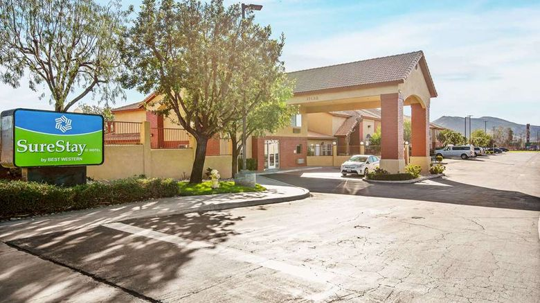 """SureStay Hotel by Best Western Fontana Exterior. Images powered by <a href=""""http://web.iceportal.com"""" target=""""_blank"""" rel=""""noopener"""">Ice Portal</a>."""