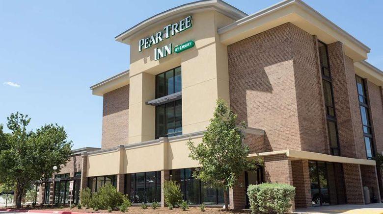 """Pear Tree Inn San Antonio Airport Exterior. Images powered by <a href=""""http://web.iceportal.com"""" target=""""_blank"""" rel=""""noopener"""">Ice Portal</a>."""