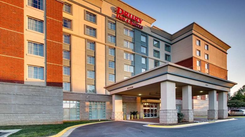 """Drury Inn  and  Suites Charlotte Northlake Exterior. Images powered by <a href=""""http://web.iceportal.com"""" target=""""_blank"""" rel=""""noopener"""">Ice Portal</a>."""