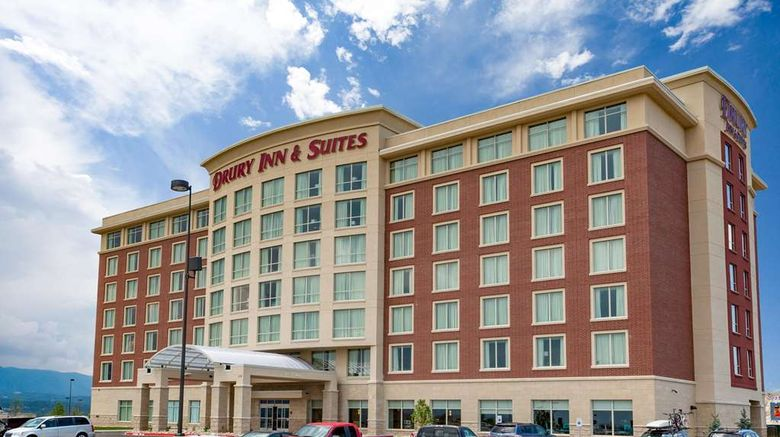 """Drury Inn  and  Suites Colorado Springs Exterior. Images powered by <a href=""""http://web.iceportal.com"""" target=""""_blank"""" rel=""""noopener"""">Ice Portal</a>."""