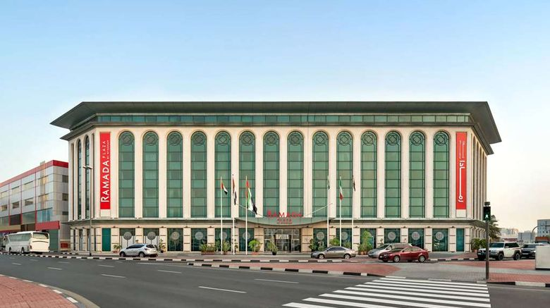 """Ramada Plaza by Wyndham Dubai Exterior. Images powered by <a href=""""http://web.iceportal.com"""" target=""""_blank"""" rel=""""noopener"""">Ice Portal</a>."""