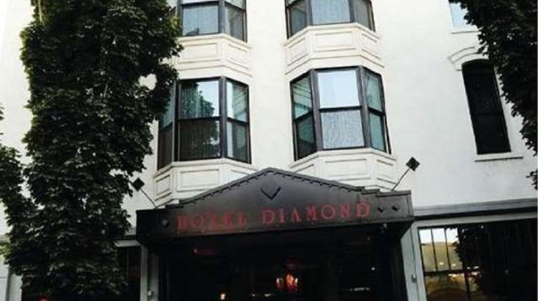 """Hotel Diamond Chico Exterior. Images powered by <a href=""""http://web.iceportal.com"""" target=""""_blank"""" rel=""""noopener"""">Ice Portal</a>."""