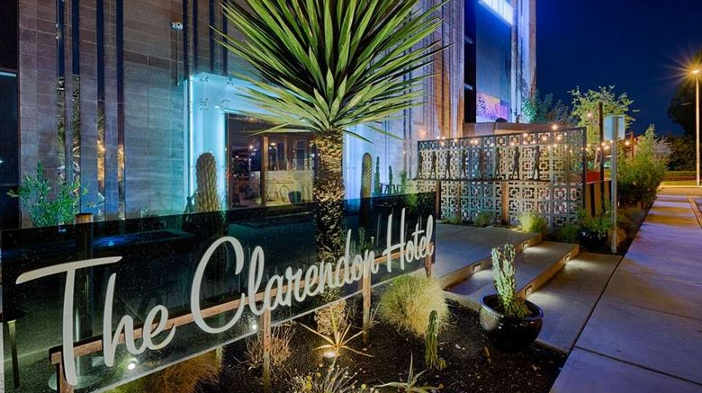 """The Clarendon Hotel  and  Spa Exterior. Images powered by <a href=""""http://web.iceportal.com"""" target=""""_blank"""" rel=""""noopener"""">Ice Portal</a>."""
