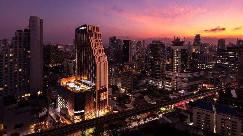 "Carlton Hotel Bangkok Sukhumvit Exterior. Images powered by <a href=""http://web.iceportal.com"" target=""_blank"" rel=""noopener"">Ice Portal</a>."