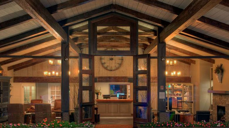 """The Inn at Pasatiempo Lobby. Images powered by <a href=""""http://web.iceportal.com"""" target=""""_blank"""" rel=""""noopener"""">Ice Portal</a>."""