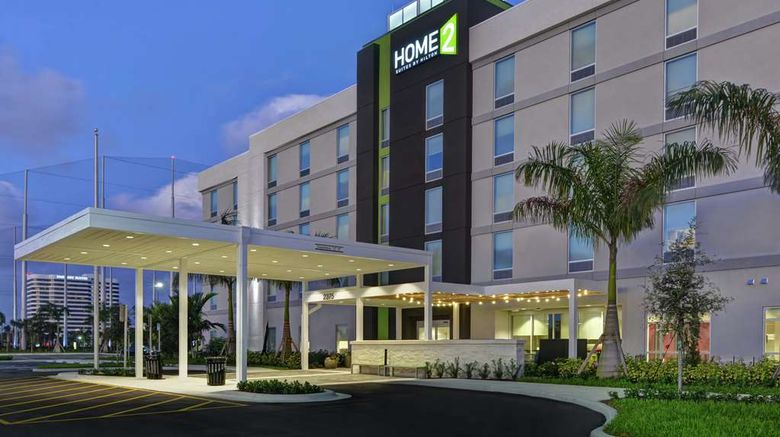 """Home2 Suites West Palm Beach Airport Exterior. Images powered by <a href=""""http://web.iceportal.com"""" target=""""_blank"""" rel=""""noopener"""">Ice Portal</a>."""