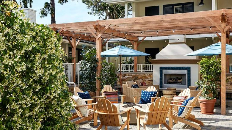 """Hotel Carmel Exterior. Images powered by <a href=""""http://web.iceportal.com"""" target=""""_blank"""" rel=""""noopener"""">Ice Portal</a>."""