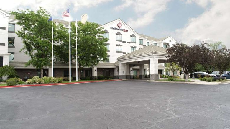 """Best Western Plus Provo University Inn Exterior. Images powered by <a href=""""http://web.iceportal.com"""" target=""""_blank"""" rel=""""noopener"""">Ice Portal</a>."""