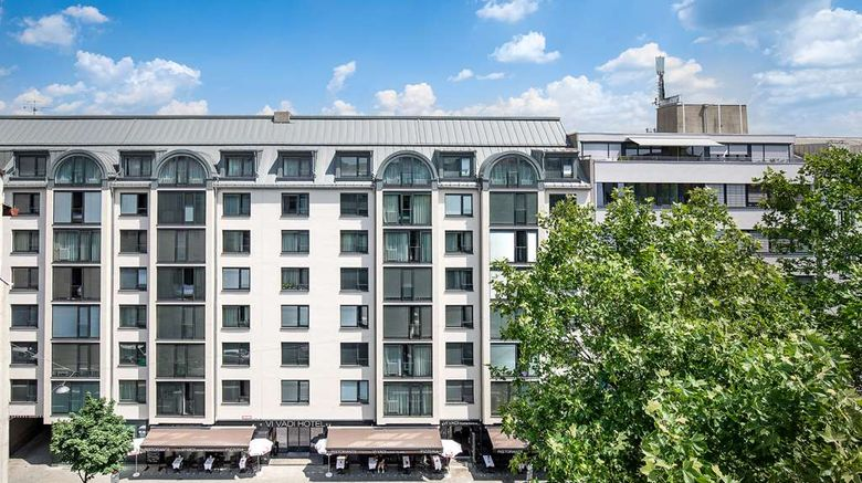 """Vi Vadi Hotel Downtown Munich Exterior. Images powered by <a href=""""http://web.iceportal.com"""" target=""""_blank"""" rel=""""noopener"""">Ice Portal</a>."""