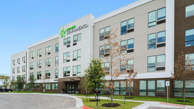 """Extended Stay America Prem Stes Aus Airp Exterior. Images powered by <a href=""""http://web.iceportal.com"""" target=""""_blank"""" rel=""""noopener"""">Ice Portal</a>."""