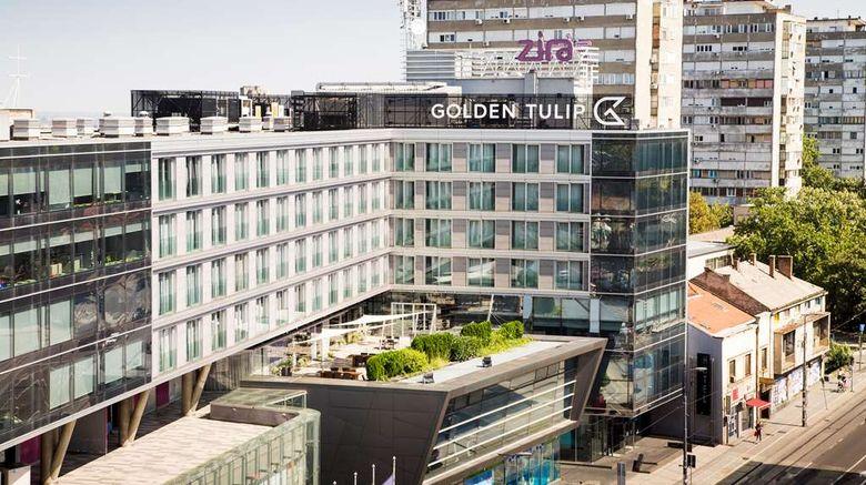 "Hotel Golden Tulip Zira Belgrade Exterior. Images powered by <a href=""http://web.iceportal.com"" target=""_blank"" rel=""noopener"">Ice Portal</a>."