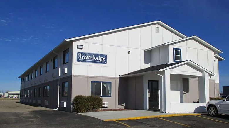 """Travelodge by Wyndham Redwood Falls Exterior. Images powered by <a href=""""http://web.iceportal.com"""" target=""""_blank"""" rel=""""noopener"""">Ice Portal</a>."""