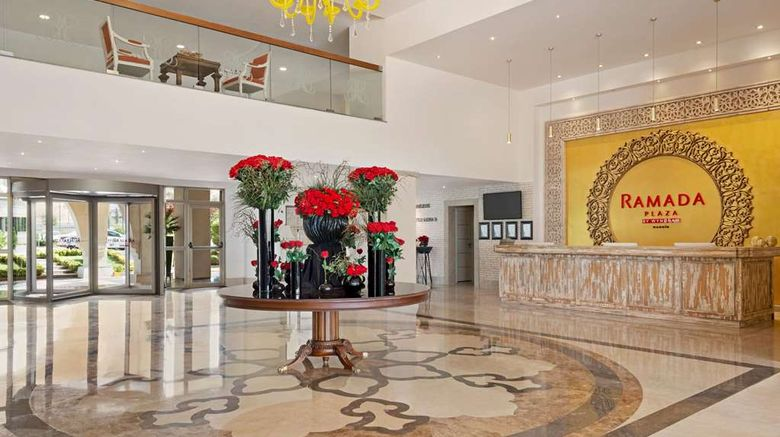 """<b>Ramada Plaza by Wyndham Mardin Lobby</b>. Images powered by <a href=""""https://iceportal.shijigroup.com/"""" title=""""IcePortal"""" target=""""_blank"""">IcePortal</a>."""
