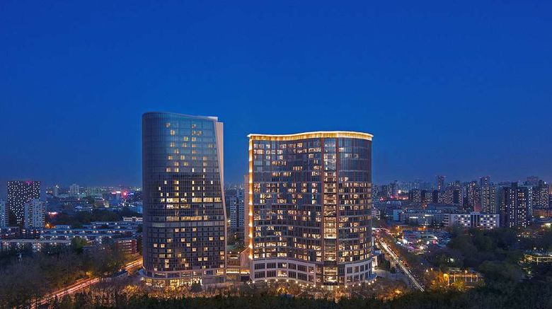 """NUO Hotel Beijing Exterior. Images powered by <a href=""""http://web.iceportal.com"""" target=""""_blank"""" rel=""""noopener"""">Ice Portal</a>."""