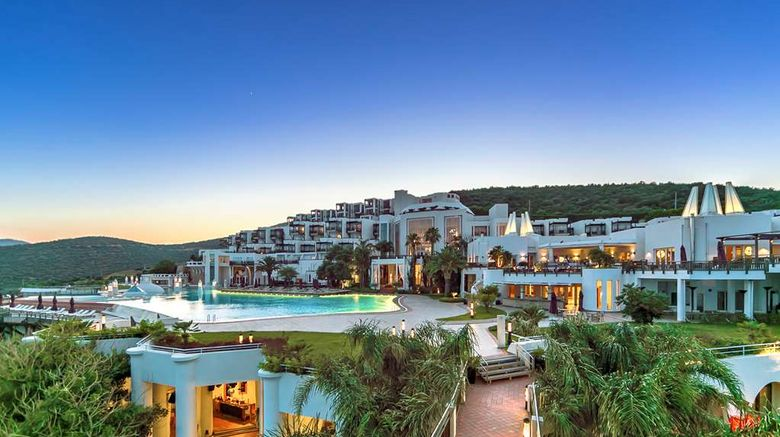 """Kempinski Hotel Barbaros Bay - Bodrum Exterior. Images powered by <a href=""""http://web.iceportal.com"""" target=""""_blank"""" rel=""""noopener"""">Ice Portal</a>."""