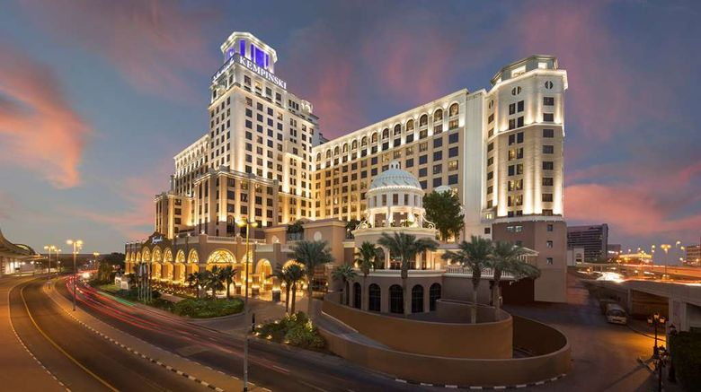 """Kempinski Hotel Mall of the Emirates Exterior. Images powered by <a href=""""http://web.iceportal.com"""" target=""""_blank"""" rel=""""noopener"""">Ice Portal</a>."""