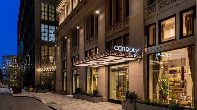 """Canopy by Hilton Center City Exterior. Images powered by <a href=""""http://web.iceportal.com"""" target=""""_blank"""" rel=""""noopener"""">Ice Portal</a>."""