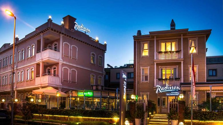 """Radisson Hotel Istanbul Sultanahmet Exterior. Images powered by <a href=""""http://web.iceportal.com"""" target=""""_blank"""" rel=""""noopener"""">Ice Portal</a>."""