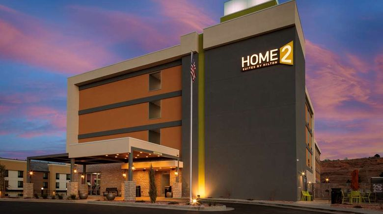 """Home2 Suites by Hilton Page Lake Powell Exterior. Images powered by <a href=""""http://web.iceportal.com"""" target=""""_blank"""" rel=""""noopener"""">Ice Portal</a>."""