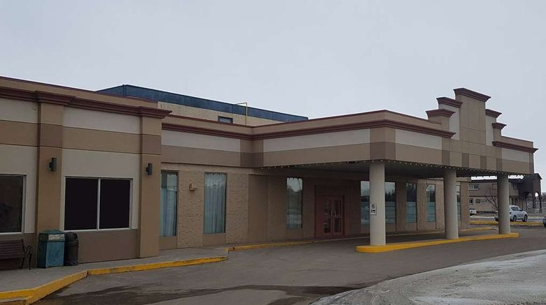 """Travelodge by Wyndham Regina Exterior. Images powered by <a href=""""http://web.iceportal.com"""" target=""""_blank"""" rel=""""noopener"""">Ice Portal</a>."""