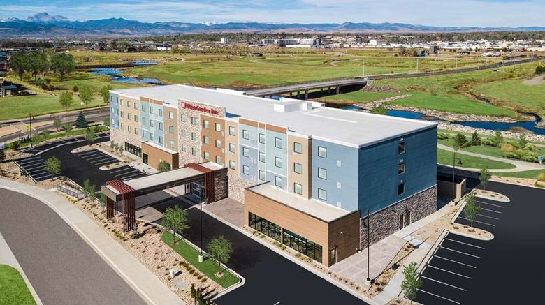 """Hilton Garden Inn Longmont Exterior. Images powered by <a href=""""http://web.iceportal.com"""" target=""""_blank"""" rel=""""noopener"""">Ice Portal</a>."""