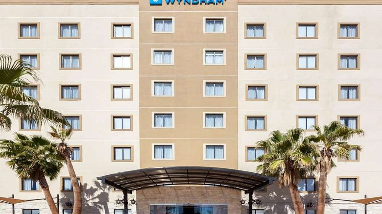"""Wyndham Torreon Exterior. Images powered by <a href=""""http://web.iceportal.com"""" target=""""_blank"""" rel=""""noopener"""">Ice Portal</a>."""
