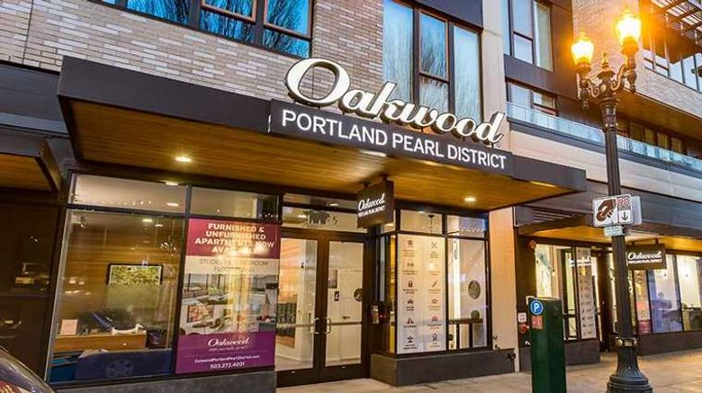 """Oakwood Portland Pearl District Exterior. Images powered by <a href=""""http://web.iceportal.com"""" target=""""_blank"""" rel=""""noopener"""">Ice Portal</a>."""