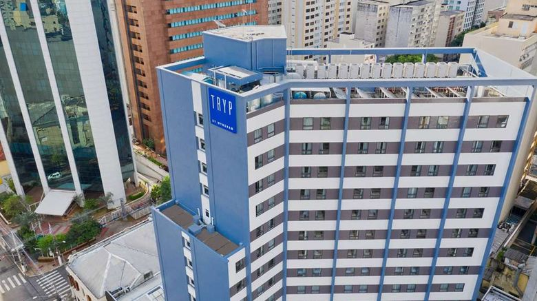 """TRYP by Wyndham Sao Paulo Paraiso Exterior. Images powered by <a href=""""http://web.iceportal.com"""" target=""""_blank"""" rel=""""noopener"""">Ice Portal</a>."""