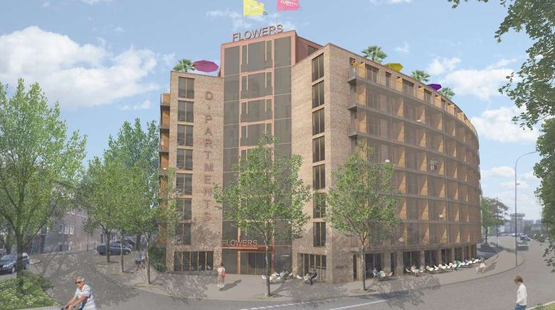 """Flowers Hotel Essen Exterior. Images powered by <a href=""""http://web.iceportal.com"""" target=""""_blank"""" rel=""""noopener"""">Ice Portal</a>."""