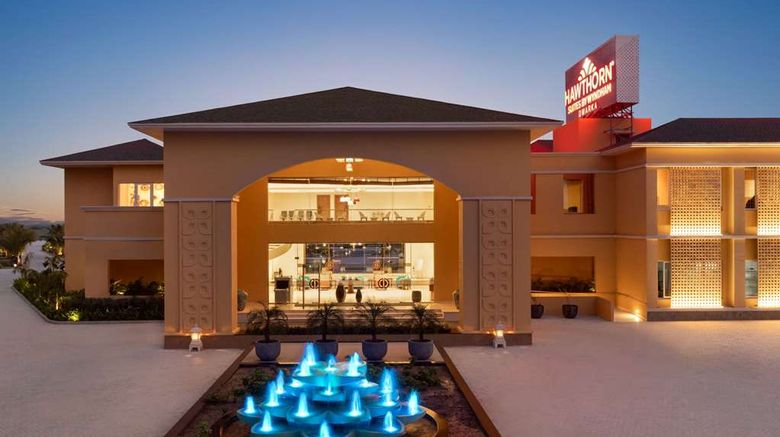 """Hawthorn Suites by Wyndham Dwarka Exterior. Images powered by <a href=""""http://web.iceportal.com"""" target=""""_blank"""" rel=""""noopener"""">Ice Portal</a>."""