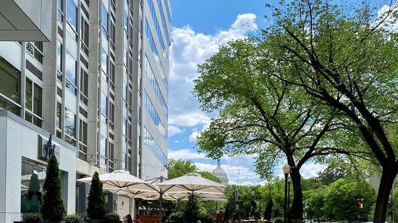 """YOTEL Washington DC Exterior. Images powered by <a href=""""http://web.iceportal.com"""" target=""""_blank"""" rel=""""noopener"""">Ice Portal</a>."""