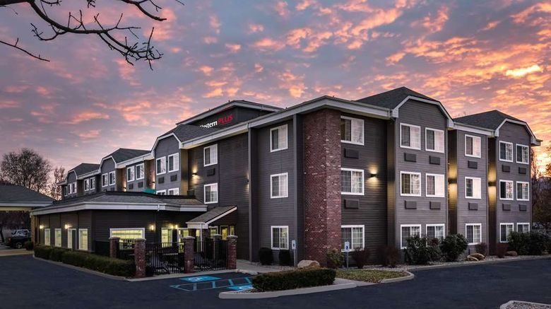 """Best Western Plus Spokane North Exterior. Images powered by <a href=""""http://web.iceportal.com"""" target=""""_blank"""" rel=""""noopener"""">Ice Portal</a>."""