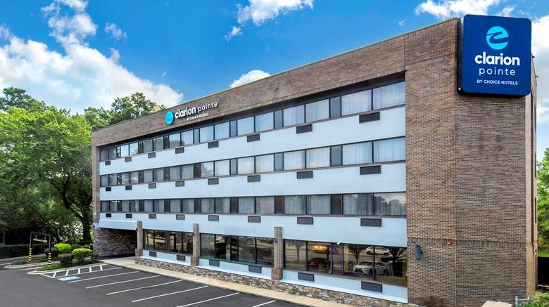 """Clarion Pointe Raleigh Midtown Exterior. Images powered by <a href=""""http://web.iceportal.com"""" target=""""_blank"""" rel=""""noopener"""">Ice Portal</a>."""