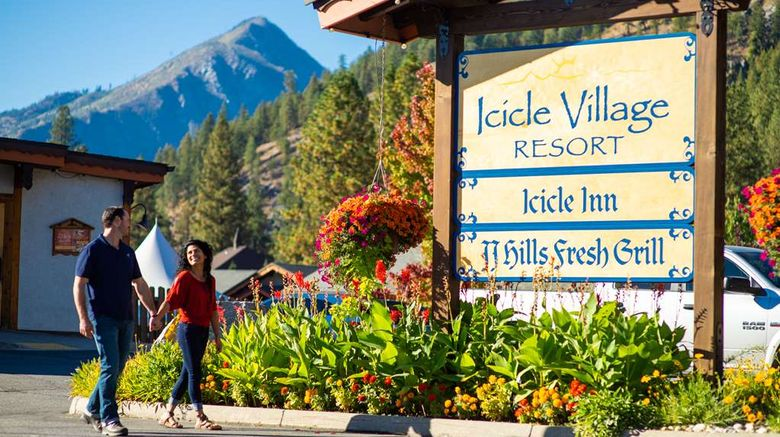"""Icicle Village Resort Exterior. Images powered by <a href=""""http://web.iceportal.com"""" target=""""_blank"""" rel=""""noopener"""">Ice Portal</a>."""