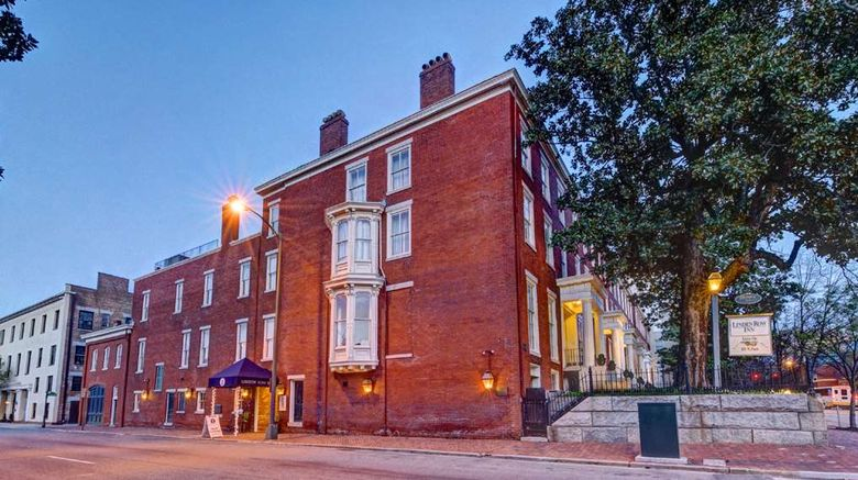 """Linden Row Inn Exterior. Images powered by <a href=""""http://web.iceportal.com"""" target=""""_blank"""" rel=""""noopener"""">Ice Portal</a>."""