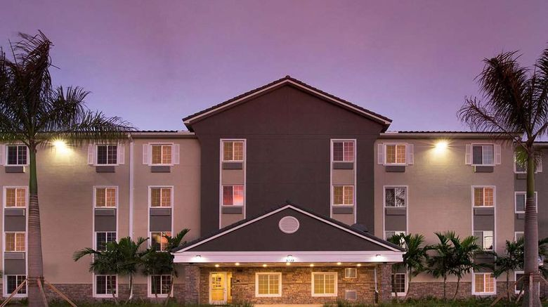 """WoodSpring Suites Fort Lauderdale Exterior. Images powered by <a href=""""http://web.iceportal.com"""" target=""""_blank"""" rel=""""noopener"""">Ice Portal</a>."""