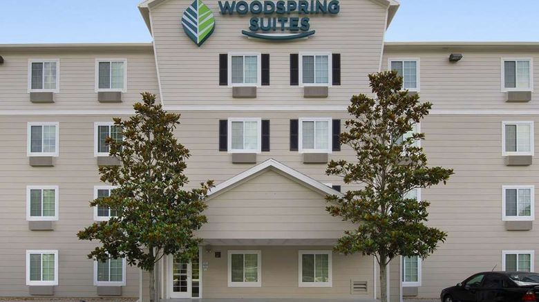 """WoodSpring Suites Gainesville FL I-75 Exterior. Images powered by <a href=""""http://web.iceportal.com"""" target=""""_blank"""" rel=""""noopener"""">Ice Portal</a>."""